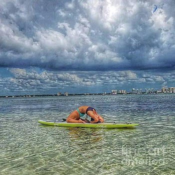 Yoga on the Surf Board by To-Tam Gerwe