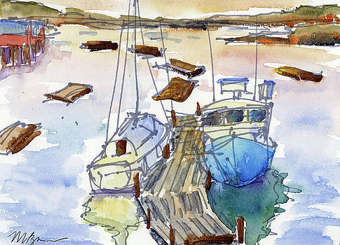 York Harbor  by Mary Byrom