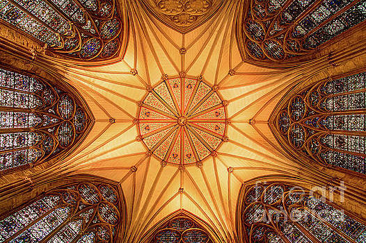 York Minster - Chapter House by Martin Williams