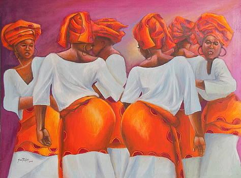 Yoruba Traditional Dancers by Olaoluwa Smith