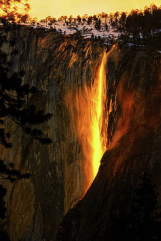 Yosemite Firefall by Greg Norrell