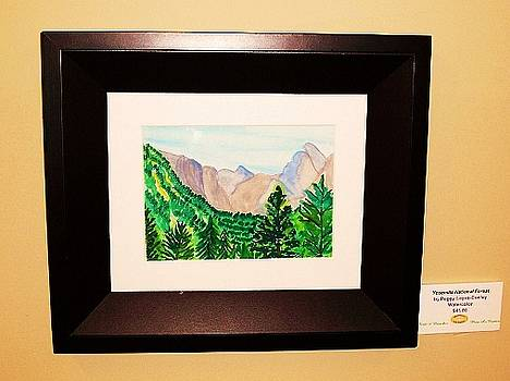 Yosemite Mountains - Art Gallery Showing by Peggy Leyva Conley