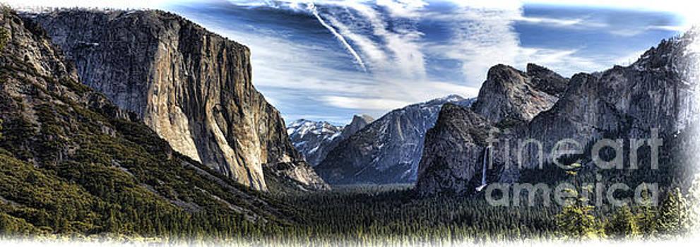 Chuck Kuhn - Yosemite Tunnel Pano III