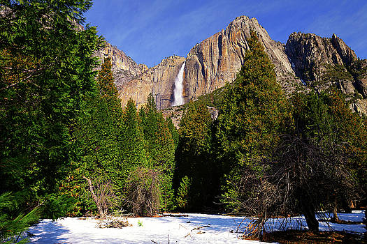 Yosemite Upper Fall by Greg Norrell