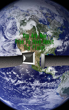 You Are Free To move About The Planet by Cindy Boyd
