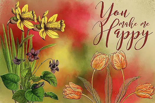You make me Happy by Diana Boyd