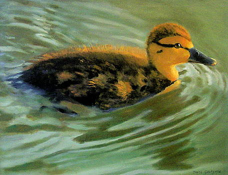 Joyce Geleynse - Young Duck In Late Afternoon