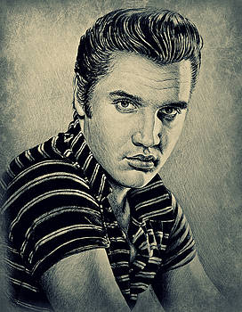 Young Elvis by Andrew Read