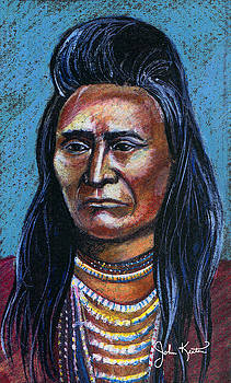 Young Indian by John Keaton