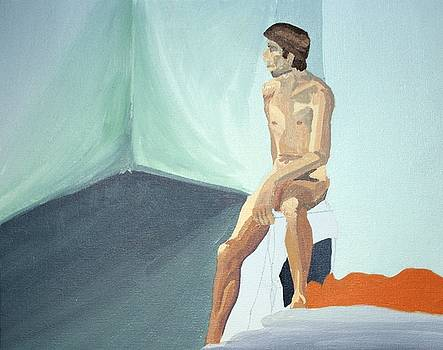 Young Male Nude by Sheri Parris