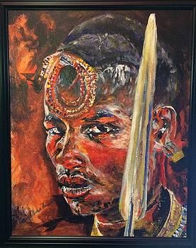 Young warrior by David Hammond