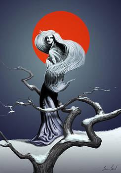 Yuki Onna The Snow Spirit by Sean Seal
