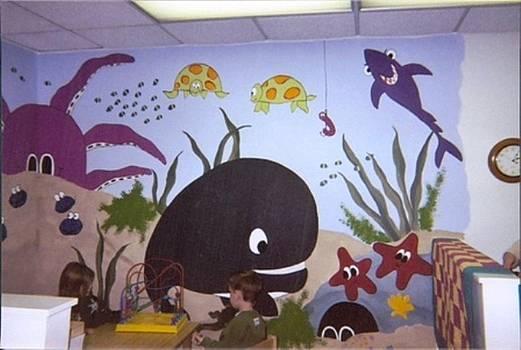 Anna Villarreal Garbis - YWCA Mural