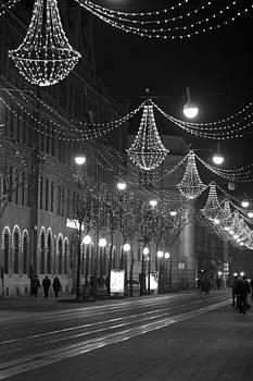 Zagreb in Winter by Vail Joy