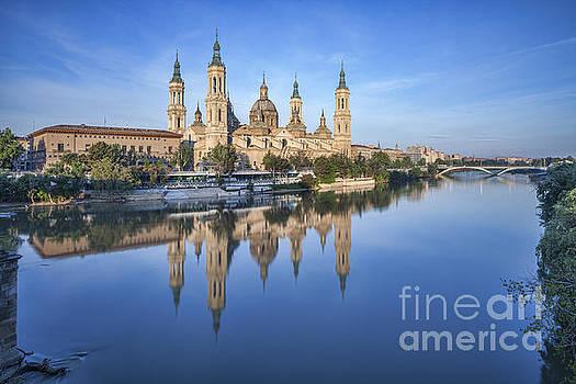 Zaragoza Reflection by Colin and Linda McKie
