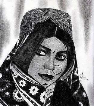 Zarina Samoo by Bobby Dar