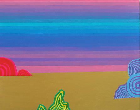 Zen Landscape by Takayuki  Shimada