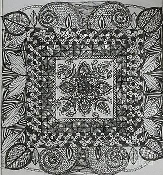 Zentangle by Usha Rai