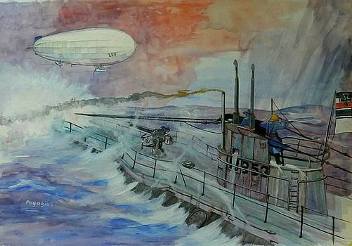 Zeppelin Z59 by Ray Agius