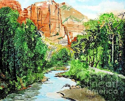 Zion and The Virgin River Two by Tom Riggs