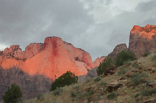 Zion Sunrise by Jim Cook