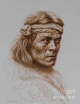Zuni Portrait by Elaine Jones