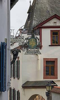 Zur Lindenau Weinstub Sign by Teresa Mucha