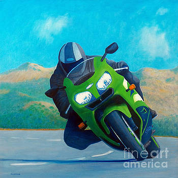 ZX9 - California Dreaming by Brian  Commerford