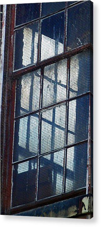 Decay Acrylic Print featuring the photograph Corner Office by Jenny Bowman