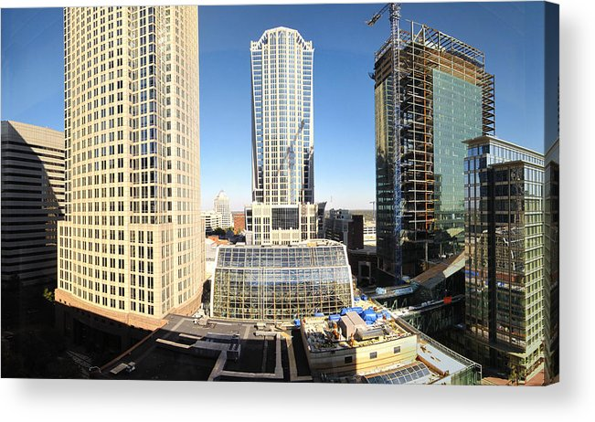 Charlotte Acrylic Print featuring the photograph Charlotte Nc - 12129 by DC Photographer