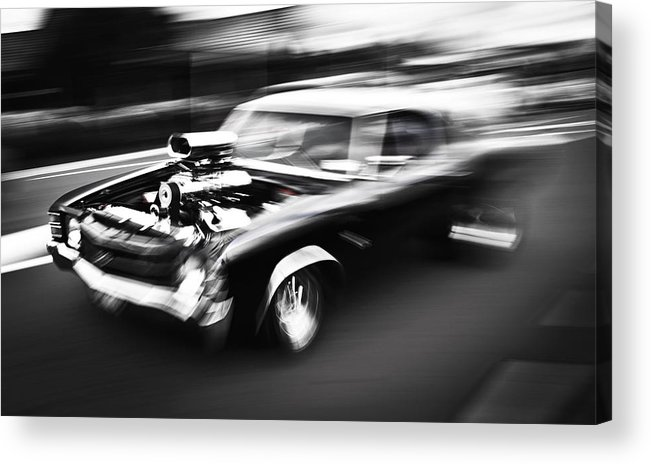 Chevrolet Chevelle Acrylic Print featuring the photograph Big Block Chevelle by Phil 'motography' Clark