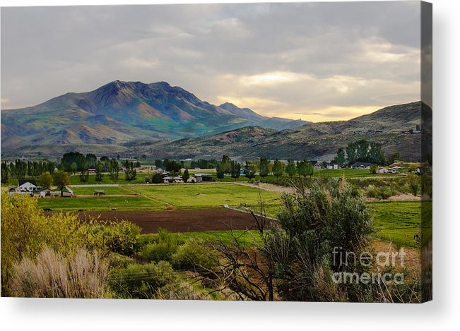 Gem County Acrylic Print featuring the photograph Spring Time In The Valley by Robert Bales
