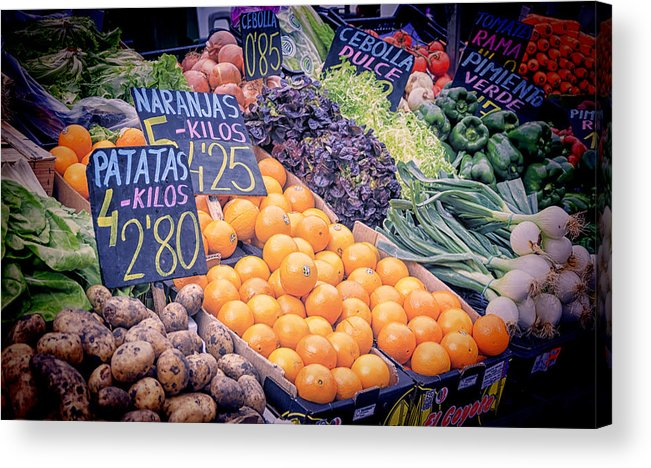 Agricultural Acrylic Print featuring the photograph Wonderful In Any Language by Joan Carroll