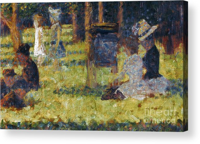 1884 Acrylic Print featuring the photograph Seurat: Grande Jatte, 1884 by Granger