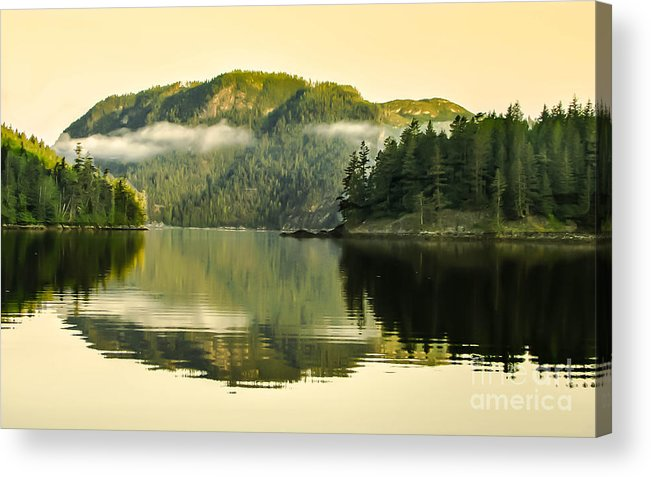 Reflections Acrylic Print featuring the photograph Early Morning Reflections by Robert Bales