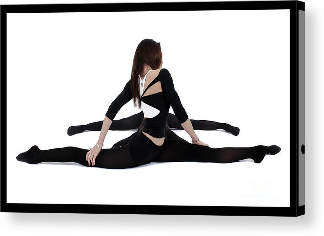 Gymnast Acrylic Print featuring the photograph The Gymnast by Pierre-jean Grouille