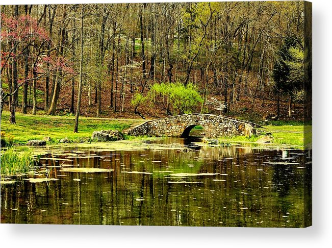Arkansas Acrylic Print featuring the photograph Arkansas Tranquility by Benjamin Yeager