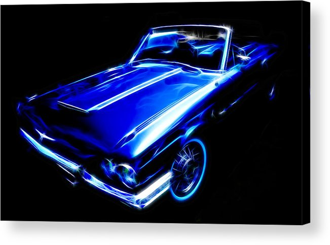 Ford Thunderbird Acrylic Print featuring the photograph 1964 Thunderbird by Phil 'motography' Clark