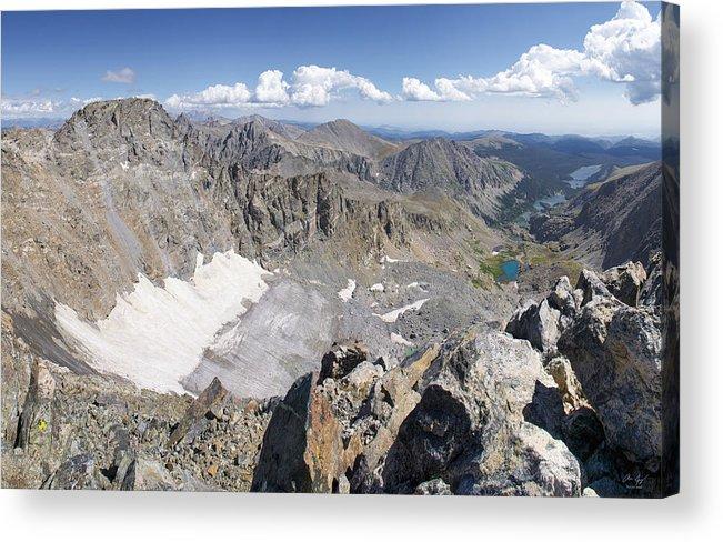Arapaho Acrylic Print featuring the photograph Arapaho Glacier by Aaron Spong