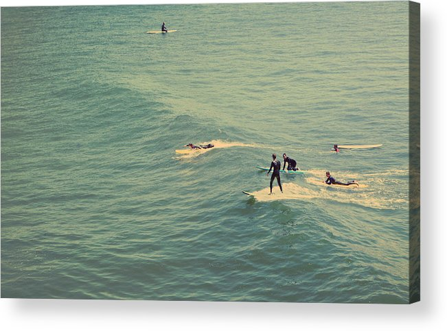 Santa Cruz Acrylic Print featuring the photograph It's The Ride by Laurie Search