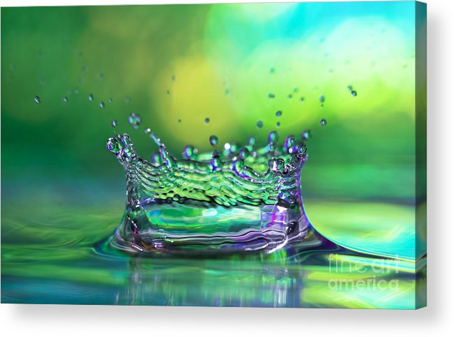 Abstract Acrylic Print featuring the photograph The Kings Crown by Darren Fisher
