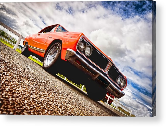 Chevrolet Acadian Acrylic Print featuring the photograph 65 Chevrolet Acadian by Phil 'motography' Clark
