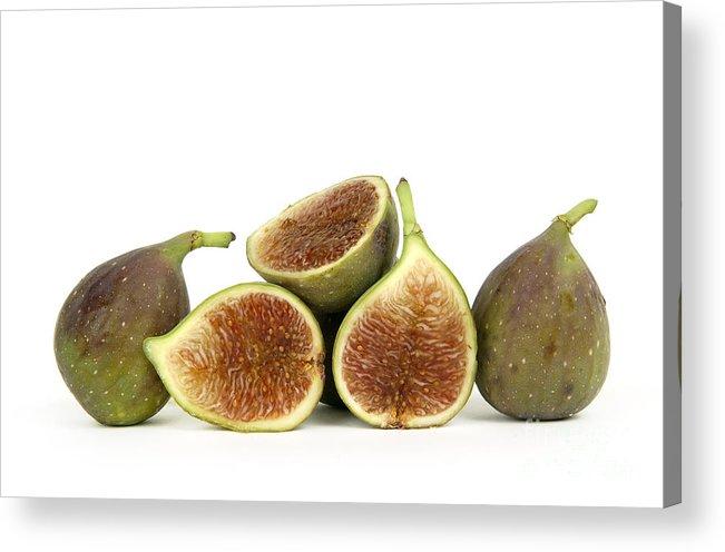 Fruit Acrylic Print featuring the photograph Figs by Bernard Jaubert