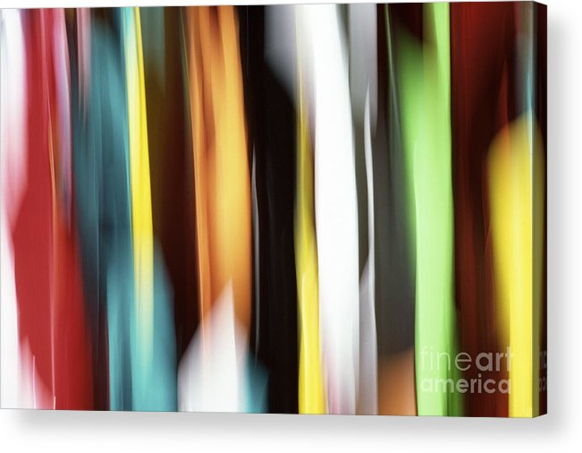 Abstract Acrylic Print featuring the photograph Abstract by Tony Cordoza