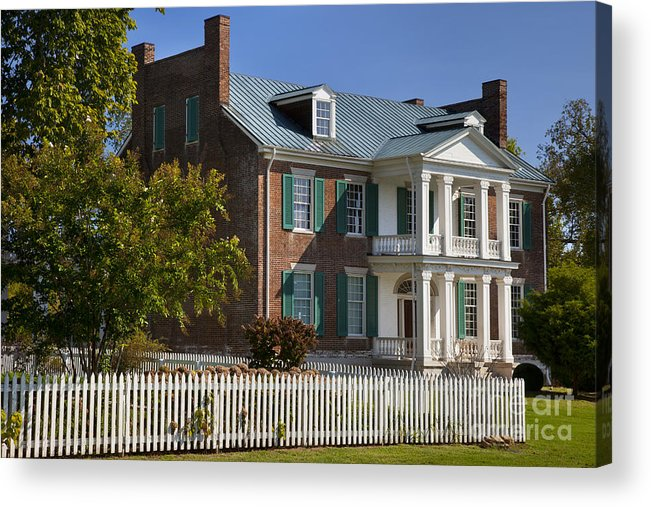 Historic Acrylic Print featuring the photograph Carnton Plantation by Brian Jannsen
