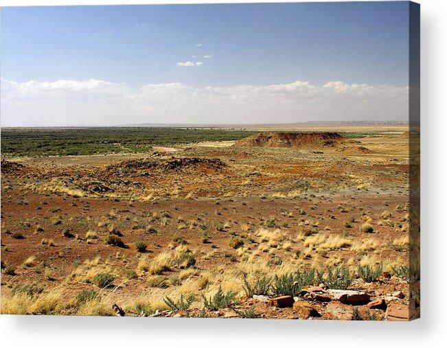 Homolovi Acrylic Print featuring the photograph Homolovi Ruins State Park Arizona by Christine Till