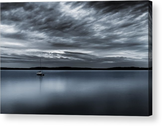 Storm Acrylic Print featuring the photograph Batten Down The Hatches by Ryan Manuel