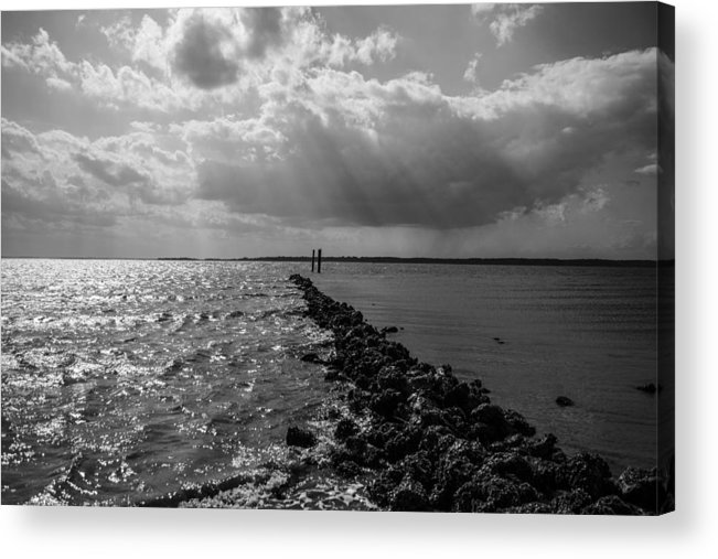 St Helena Acrylic Print featuring the photograph Breaking Divide by Steven Taylor