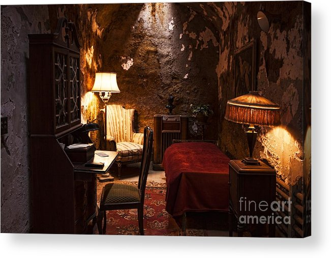 Al Capone Acrylic Print featuring the photograph Captive Luxury by Andrew Paranavitana