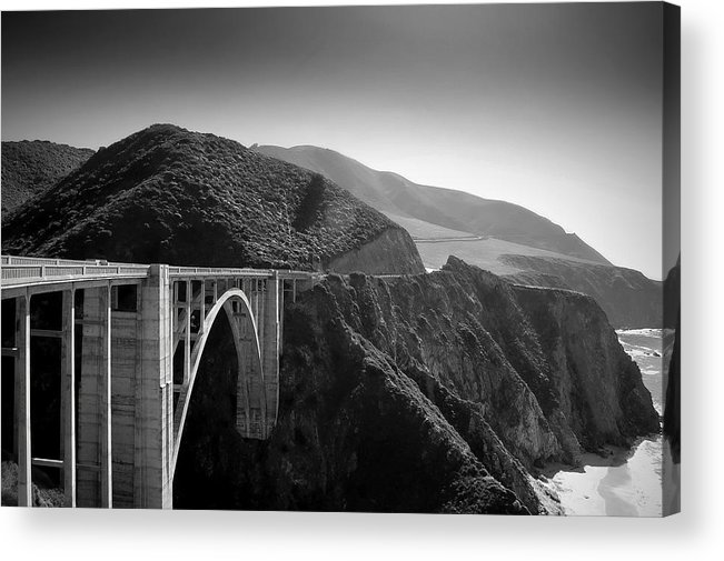 Bixby Acrylic Print featuring the photograph Explore by Mike Irwin